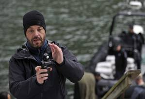 Diálogo. Durante as filmagens, Goldman diz estar a serviço do diretor e da história Foto: Divulgação