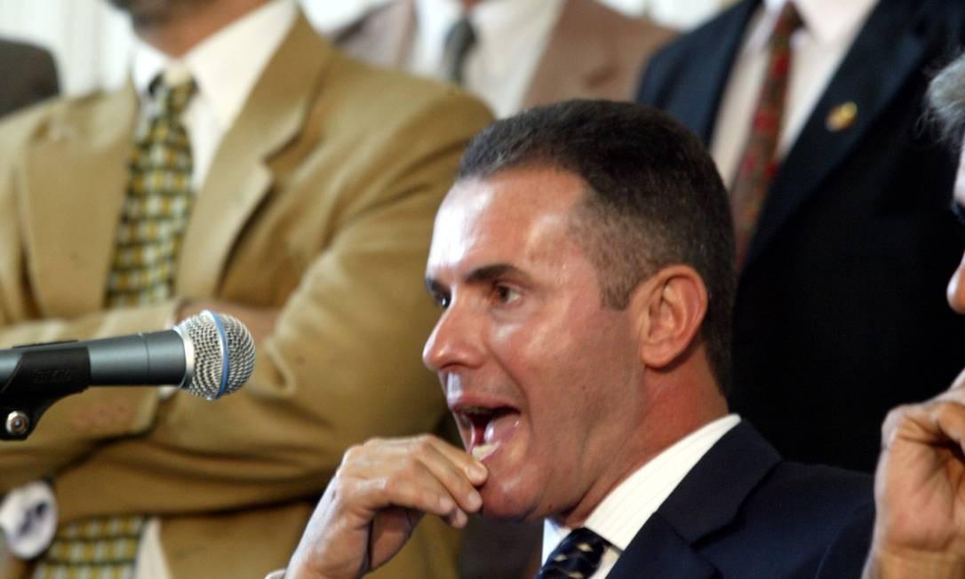 O deputado Chiquinho da Mangueira (PSC) foi reeleito para mais um mandato na Alerj e é vice-presidente da Comissão de Constituição e Justiça (CCJ) Foto: Marcos Tristão/Arquivo / O Globo