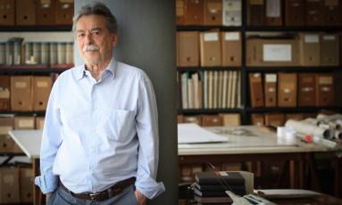 O arquiteto capixaba Paulo Mendes da Rocha Foto: Marcos Alves