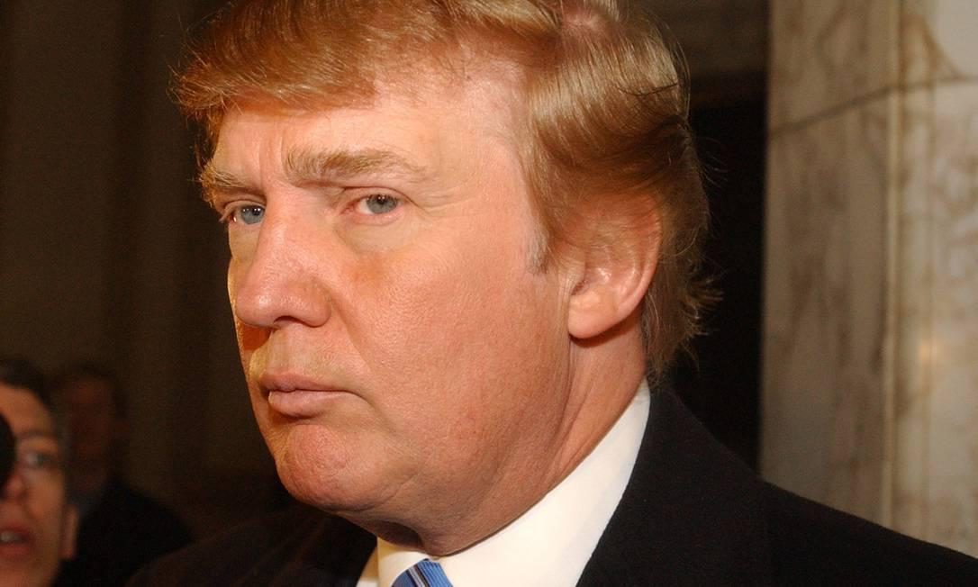 Donald Trump nos bastidores do reality show 'O aprendiz' Foto: Frank Franklin / AP