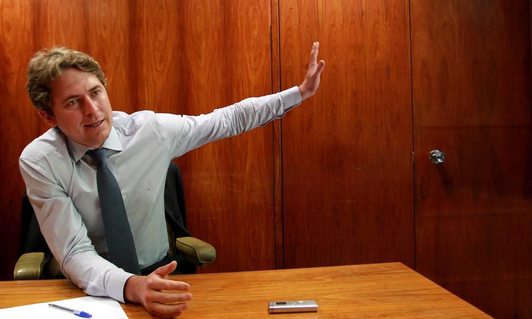 """Deputado Zeca Dirceu diz que o pai, José Dirceu, vai """"dar a volta por cima"""" Foto: O Globo / Ailton de Freitas"""