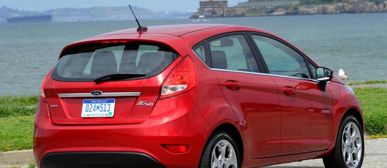 Modelo 2012 do New Fiesta é um dos convocados para recall Foto: Ford / Wieck