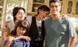 Laura Barreto, Luisa Arraes, Deborah Secco e Eduardo Moscovis em 'Louco por elas'