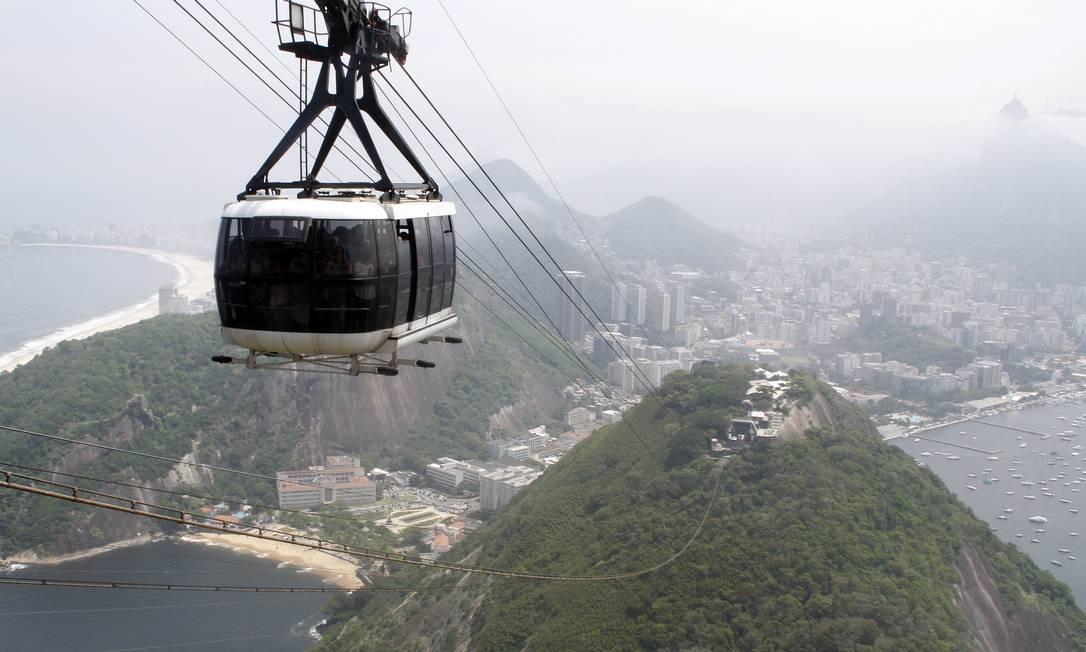Bondinho do Pão de Açúcar Foto: Felipe Hanower / O Globo