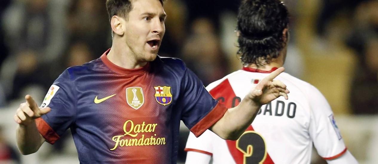Messi é o jogador mais valioso da lista dos 23 indicados à Bola de Ouro com € 140 milhões (R$ 366,8 milhões) Foto: Sergio Perez / Reuters