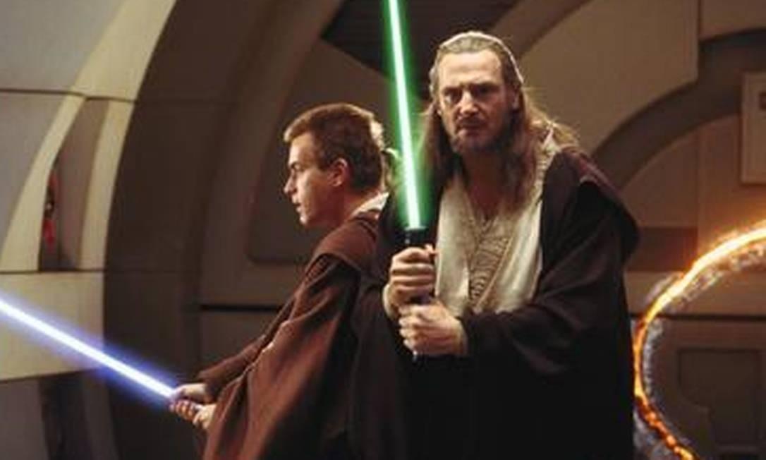 Star Wars: Episódio I A ameaça fantasma. Franquia será retomada por novos cineastas Foto: Divulgação