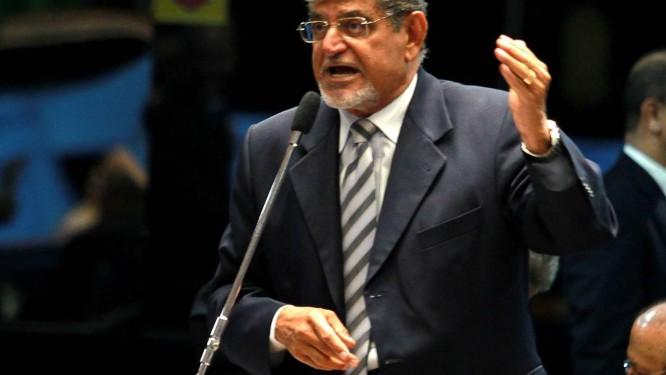 Mário Couto no plenário do Senado Foto: Agência O Globo / Ailton de Freitas