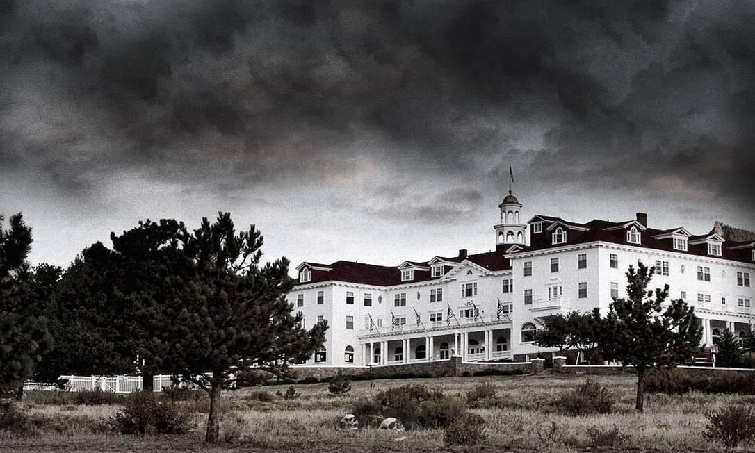 O Stanley Hotel, no Colorado, é um dos mais famosos dos Estados Unidos por suas lendas de assombrações e por ter inspirado Stephen King Foto: Reprodução da internet