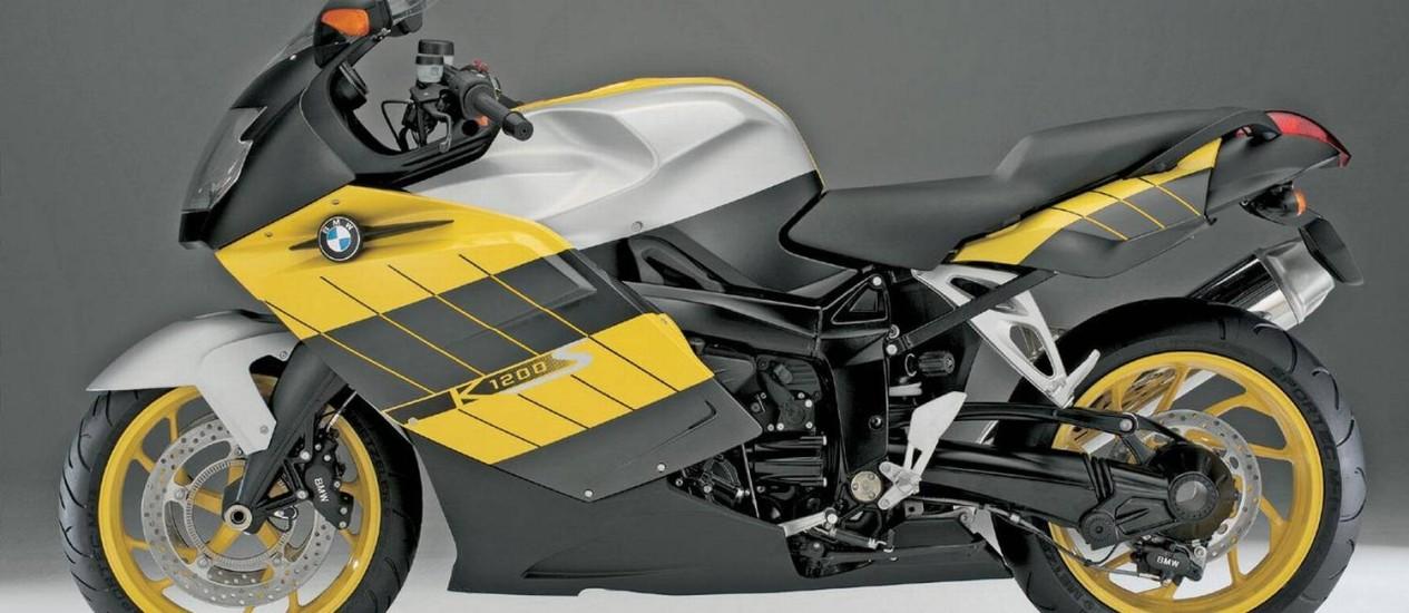 Modelo K1200S é um dos que passará por manutenção Foto: Divulgação
