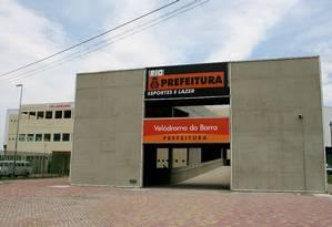 Velódromo da Barra, que deve ser desmontado Foto: Simone Marinho / Arquivo O Globo