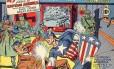 Capa da primeira edição de 'Capitão América'