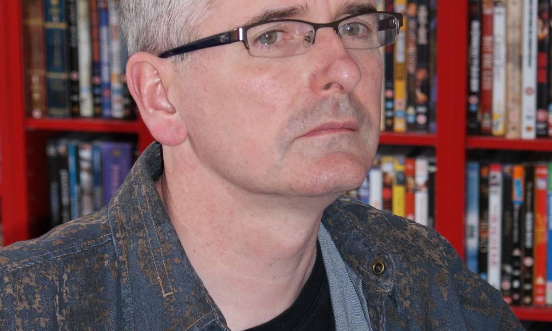 """Mike Carey escreveu na lendária revista """"2000 A.D."""" Foto: Divulgação"""