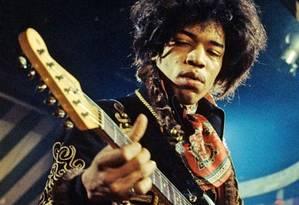 O guitarrista Jimi Hendrix Foto: Divulgação