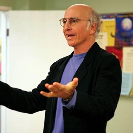 """Larry David, em """"Curb your enthusiasm"""" Foto: Divulgação"""