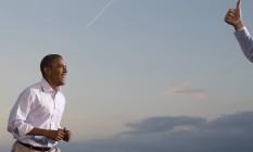 Em pesquisa da GlobeScan/Pipa, atual presidente americano ainda é o favorito para vencer a eleição em 20 de 21 países Foto: Carolyn Kaster / AP