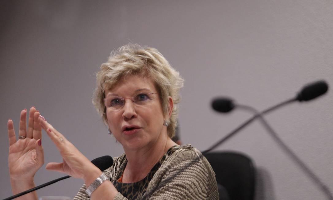 A ministra da Cultura, Marta Suplicy Foto: André Coelho / Agência O Globo