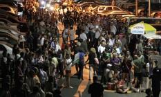 Longas filas. Em Miami, os eleitores precisaram de paciência para chegar à urna Foto: Pedro Portal/AP