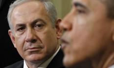 Benjamin Netanyahu e Barack Obama em encontro na Casa Branca Foto: AP/Pablo Martinez Monsivais