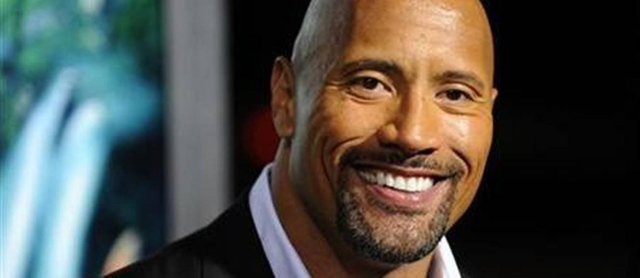 "Dwayne ""The Rock"" Johnson vai interpretar o herói da mitologia grega Hércules Foto: Reuters"