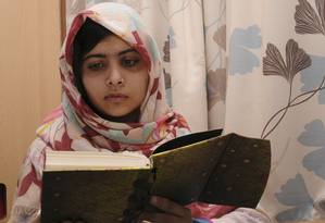 Malala Yousufzai continua a se recuperar no hospital Queen Elizabeth, em Birmingham Foto: HANDOUT / REUTERS