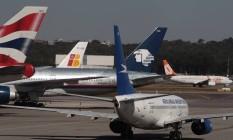 Consórcio que assumiu o Aeroporto de Guarulhos promete novo edifício-garagem Foto: Michel Filho / Agência O Globo
