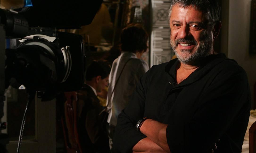O ator e diretor Marcos Paulo, em 2007 Foto: Gustavo Stephan/Arquivo O Globo