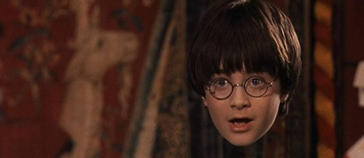 Efeito da invisibilidade já foi abordado em filmes e livros, como Harry Potter Foto: Reprodução