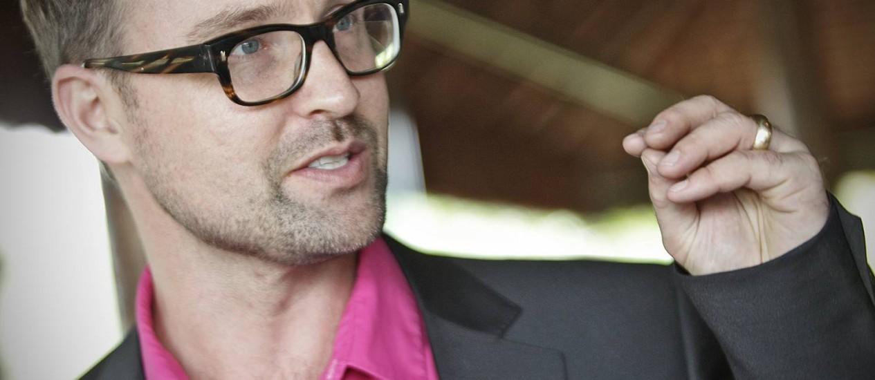 Paul Hilder, vice presidente de campanhas globais da Change.org Foto: O Globo / André Coelho