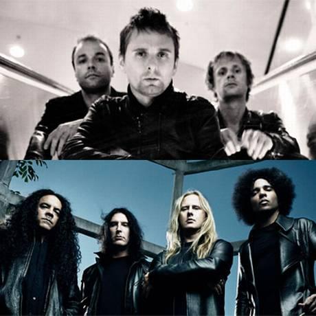 As bandas Muse (acima) e Alice in Chains se apresentam no Rock in Rio 2013 Foto: Divulgação