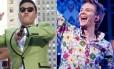 Psy e Michel Teló, os novos astros globais