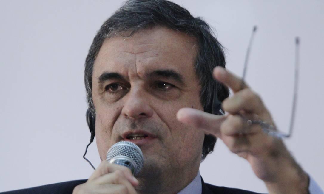 O ministro da Justiça José Eduardo Cardozo Foto: O Globo / André Coelho
