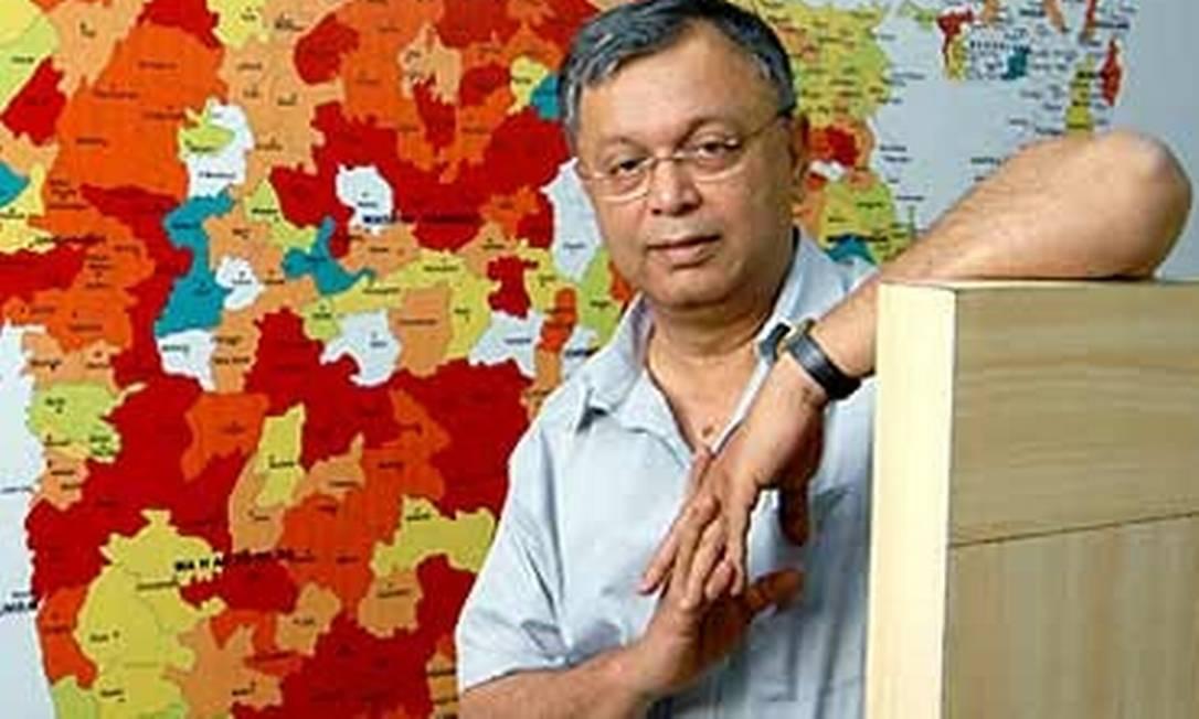 Madhav Chavan, de 58 anos, um dos fundadores da ONG Pratham Foto: Reprodução da internet