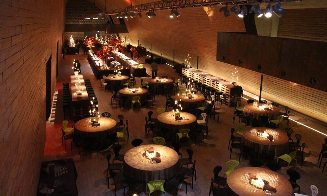 O projeto de € 100 milhões inclui restaurante Foto: Bruno Agostini / O Globo
