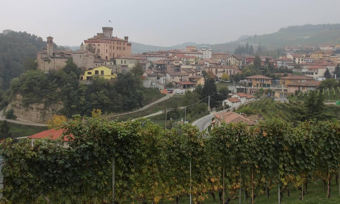 Em Barolo, no Piemonte Foto: O Globo / Bruno Agostini