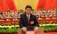 O futuro presidente chinês, Xi Jinping, durante o encerramento de uma sessão do Congresso Nacional do Partido Comunista