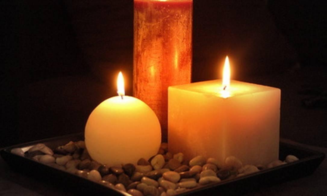 Velas aromáticas dão um toque zen à casa e trazem bem-estar Foto: Reprodução da internet
