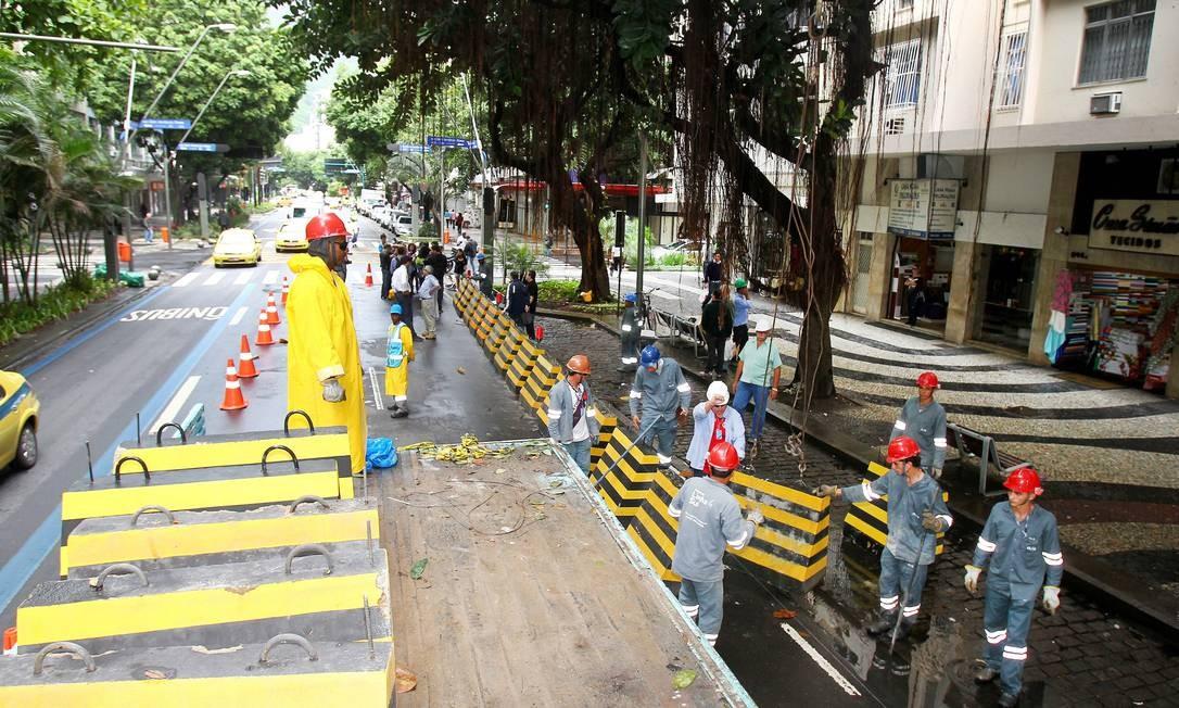 Mudanças mais significativas serão implementadas a partir do dia 24 Foto: Ivo Gonzalez / O Globo