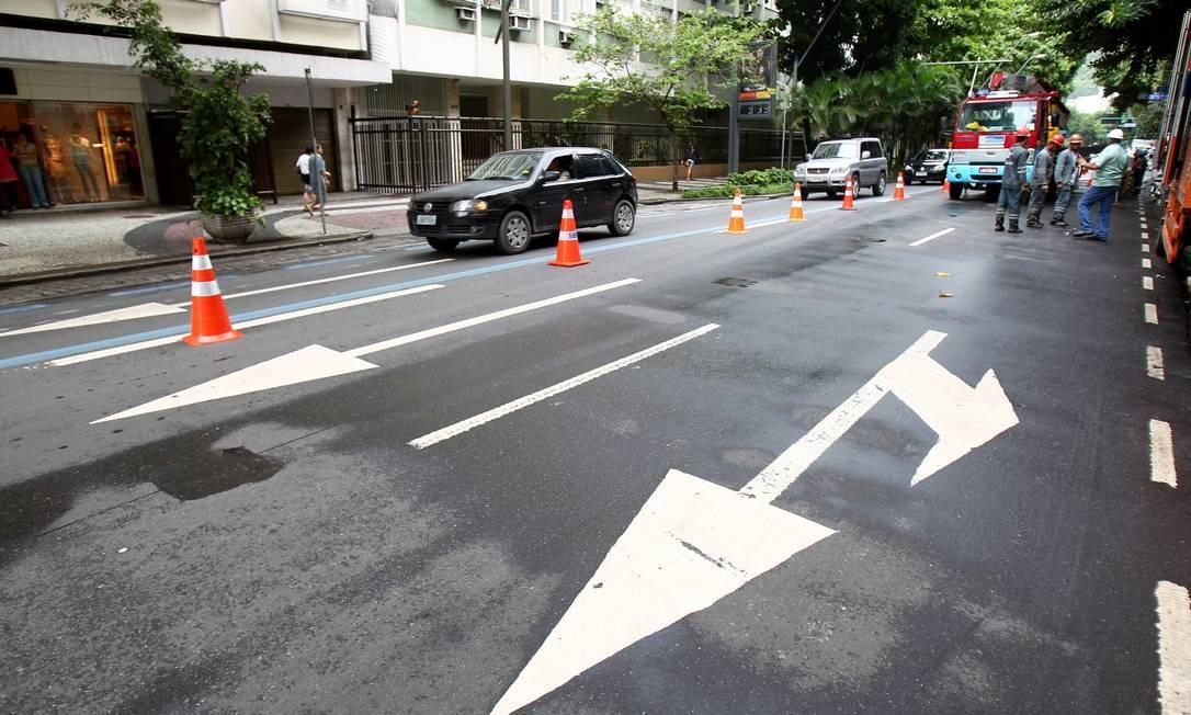 Secretário acredita que impactos no trânsito serão vistos a partir de quarta-feira Foto: Ivo Gonzalez / O Globo