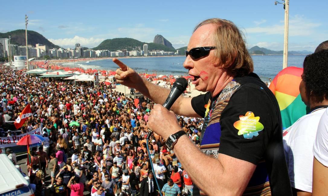 O secretário de Estado do Meio Ambiente, Carlos Minc, participou do evento Foto: Divulgação / Luiz Morier