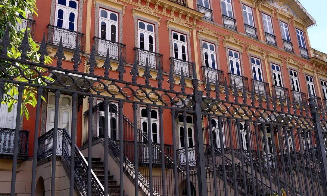 Patrimônio: Imóvel de Laranjeiras é tombado pela prefeitura desde 1994 Foto: Camilla Maia