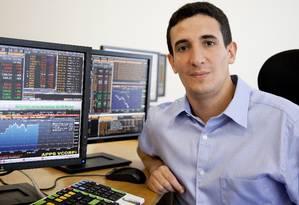 """Hersz Ferman, da Yield Capital, diz que múltiplo está """"inflado"""" e não mostra a realidade de preço da Bolsa Foto: Agência O Globo / Simone Marinho"""