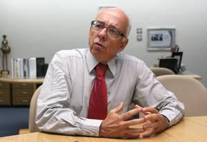 Ex-procurador-geral da República Cláudio Fonteles Foto: Agência O Globo / Givaldo Barbosa