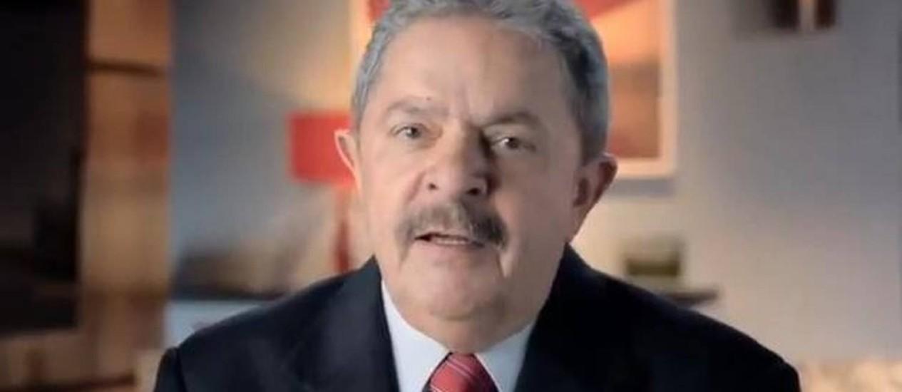 O ex-presidente Luiz Inácio Lula da Silva Foto: Reprodução