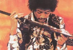 Jimi Hendrix terá mais um disco póstumo lançado Foto: Arquivo
