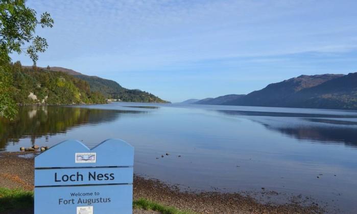 Cercado de lendas, o Loch Ness é uma atração imperdível nas Highlands Especial para O Globo / Mari Campos