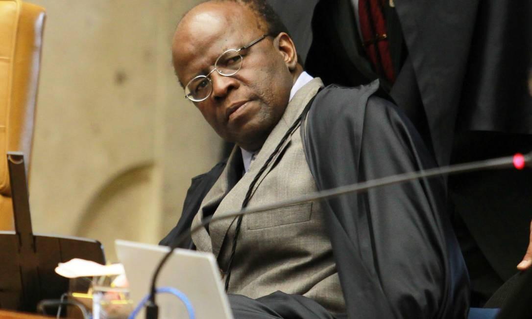 Ministro durante julgamento do mensalão Foto: Agência O Globo / Ailton de Freitas