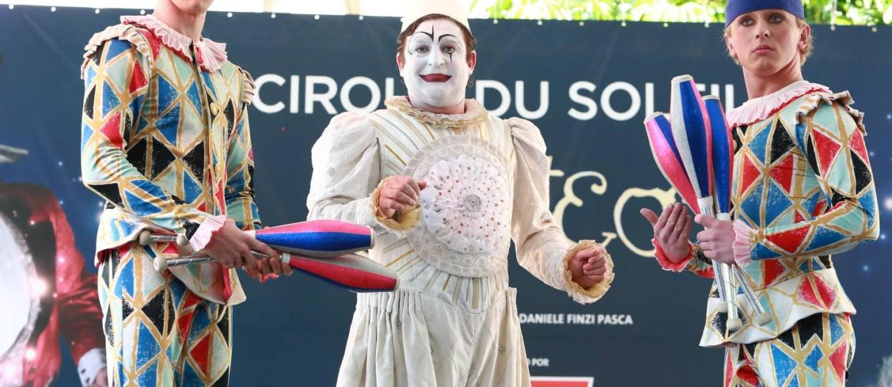 Cirque du Soleil: Corteo chega ao Brasil em 2013 Foto: Divulgação