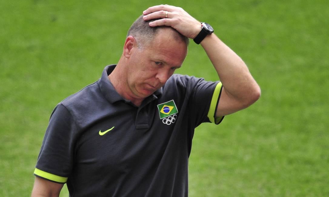 Mano Menezes não é mais o treinador da seleção brasileira Foto: AFP