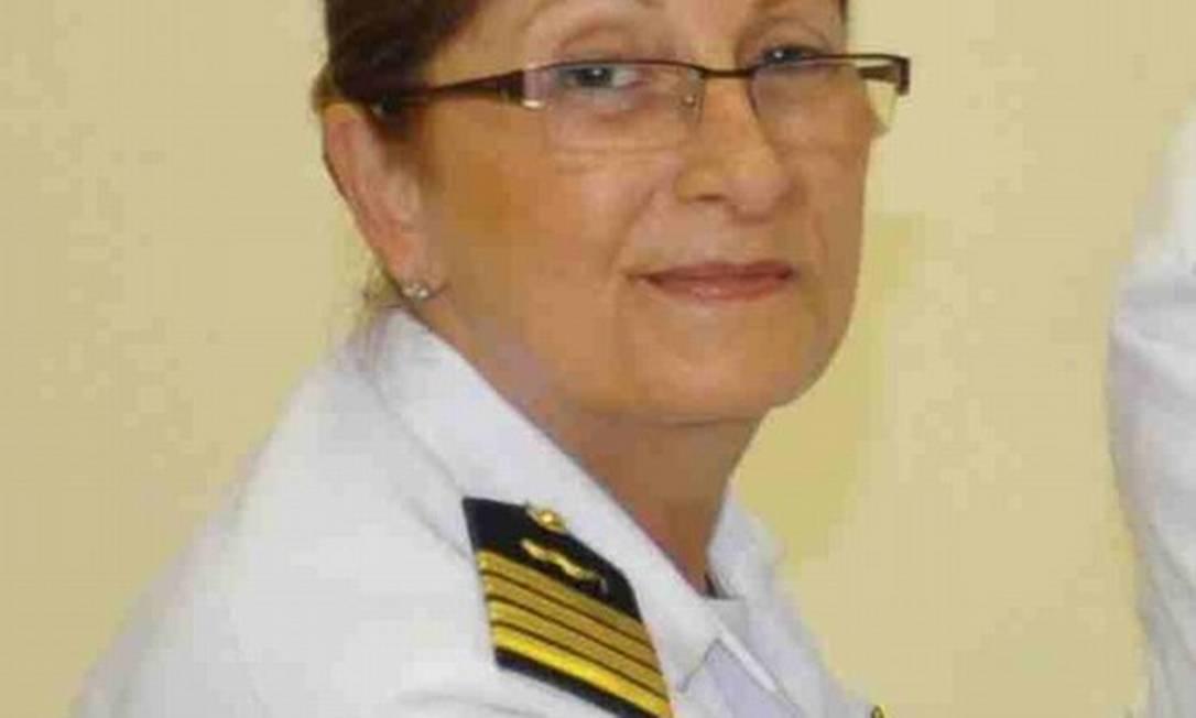A capitão-de-mar-e-guerra Dalva Maria Carvalho Mendes Foto: Blog Panorama Político