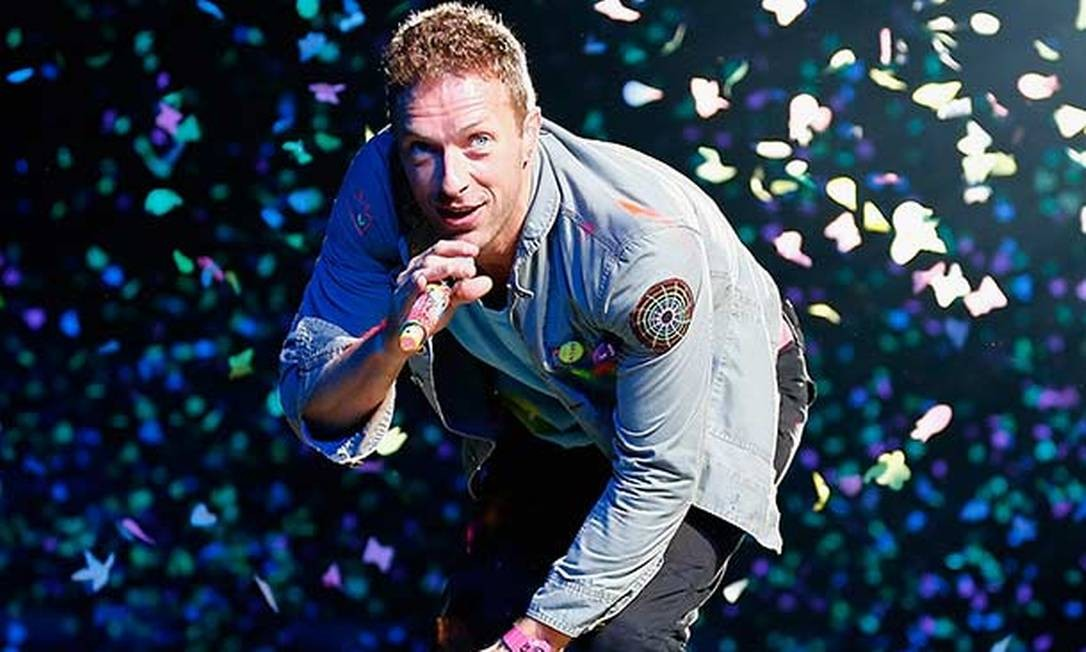 Chris Martin, o vocalista do Coldplay Foto: Reuters